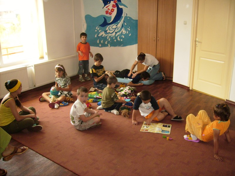 "Started in February 2005, The ""Dolphin"" Day care Center cares for children"