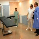 We konden bijdragen aan de inrichting van de operatiezalen van het ziekenhuis in Moinesti