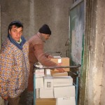 Donatie van medische materialen voor het ziekenhuis in Buhusi