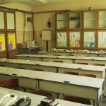 "Technisch college ""N.V. Karpen, Bacau. Opleiding telecommunicatie en electronica - oude situatie"