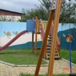 """Speelplaats van het dagverblijf """"Betania"""""""
