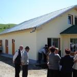 Medische post in Izvorul Berhecelui - nieuwe situatie