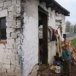 De woning van een van de gezinnen uit ons project