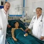 Elvira, geholpen bij transplant van haar hartklep, uitgevoerd door artsen uit Roemenie en Oostenrijk