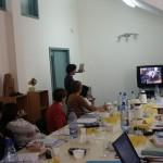 Internationale cursus ergo-therapie, workshop