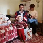Een van de gezinnen uit onze projecten