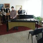 Donatie van muziekinstrumenten aan de muziekschool in Bacau
