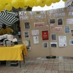 Anti-drugs campagne in het centrum van Bacau
