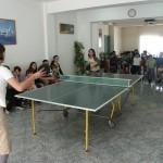 "Tafeltennis toernooi in ""de Tulp"""
