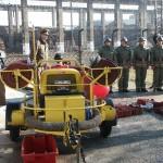 Donatie van een motorpomp uit Nederland voor de brandweer van Bacau