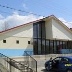 Nieuw medisch centrum in Gaiceana, gebouwd door werkgroep Oost Europa